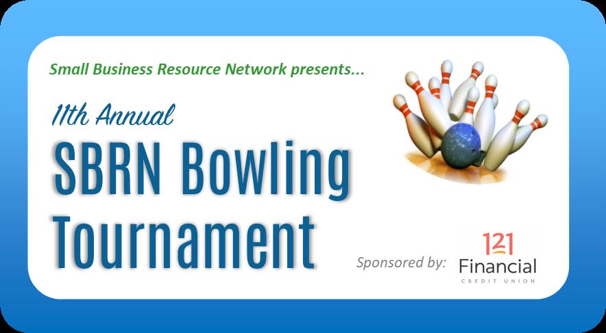 SBRN Bowling Tournament graphic